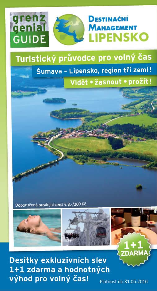 Nové vydání turistického průvodce Grenzgenial 2015/16